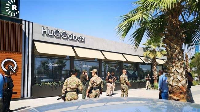 Il luogo della sparatoria, il ristorante HuQQabaz tra i quartieri-vetrina di Dream City ed Empire, a Erbil