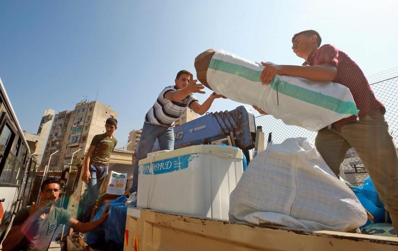 Profughi palestinesi a Beirut