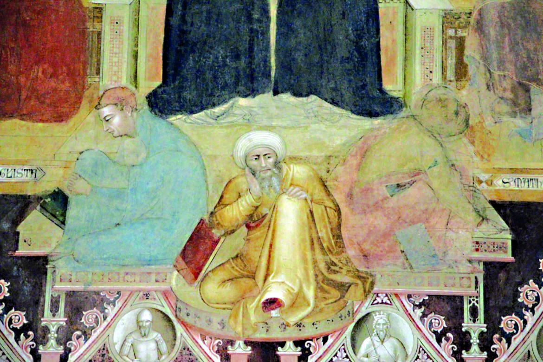 Andrea di Bonaiuto, Apotesosi di San Tommaso d'Aquino