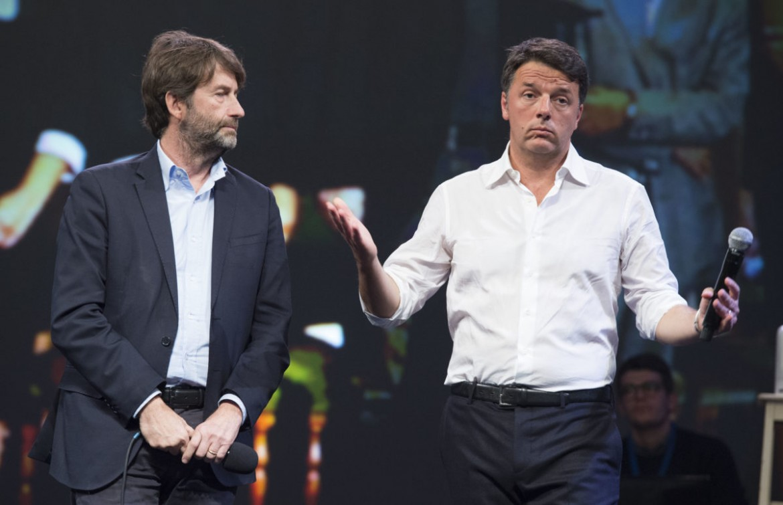 Dario Franceschini e Matteo Renzi
