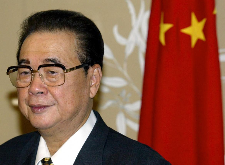 L'ex premier cinese Li Peng