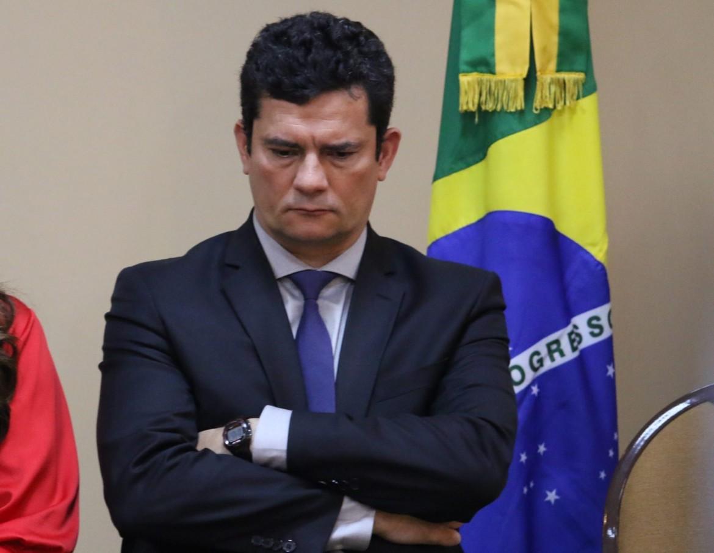 L'ex giudice Sérgio Moro, attuale ministro della Giustizia brasiliano