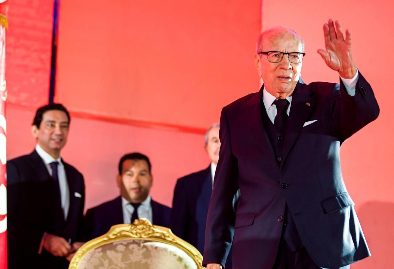 Il presidente tunisino Béji Caid Essebsi