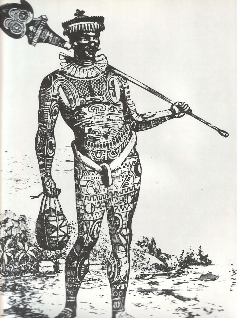 Il principe polinesiano Omai, portato a corte dal capitano Cook