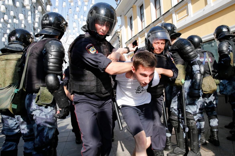 Arresti durante la manifestazione di sabato a Mosca