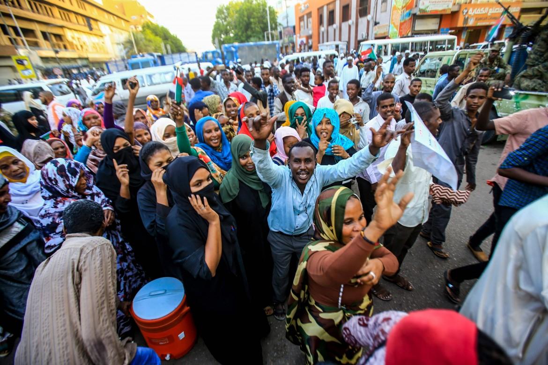Manifestazione a Khartoum