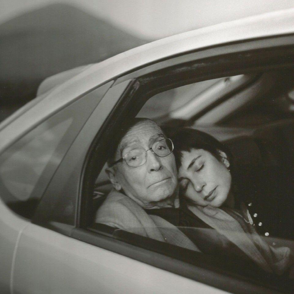 Saramago con la moglia Pilar del Rio