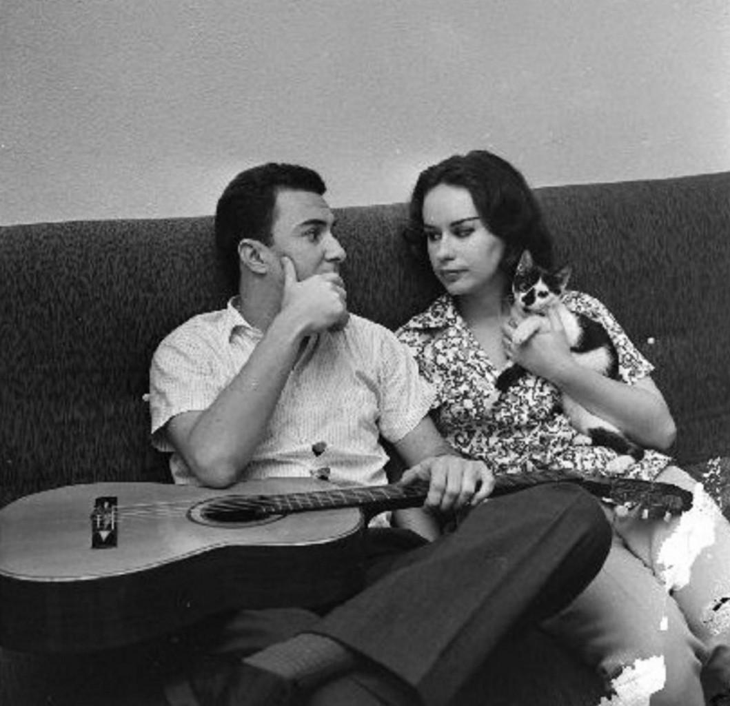 João Gilberto e la moglie Astrud