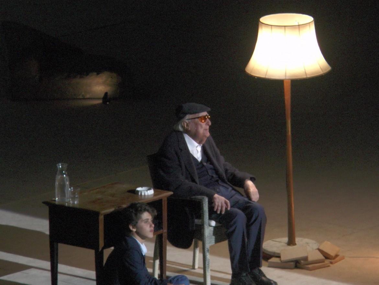 «Conversazione su Tiresia», lo spettacolo scritto, diretto e interpretato da Andrea Camilleri