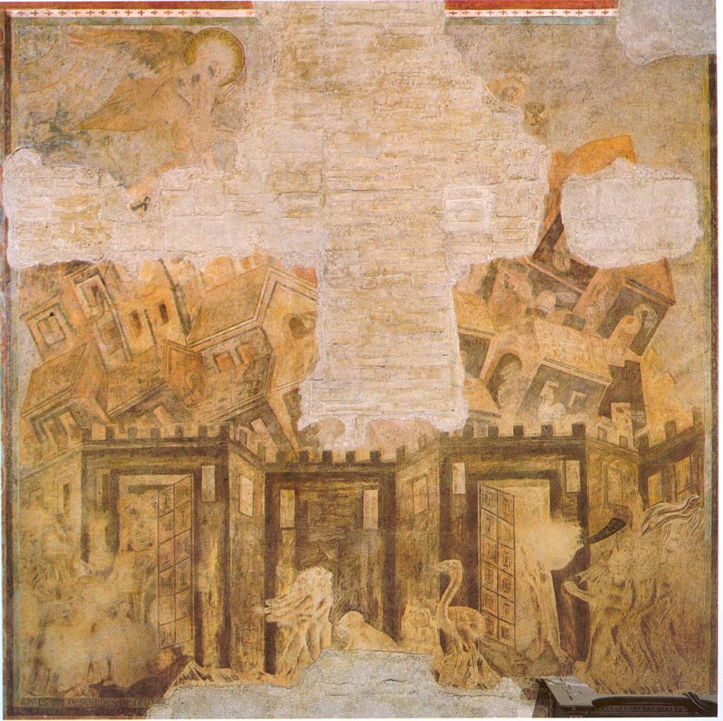 La caduta di Babilonia secondo Cimabue, XIII secolo
