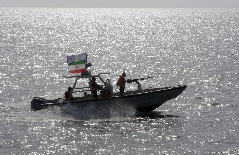 Un'imbarcazione delle Guardie rivoluzionarie