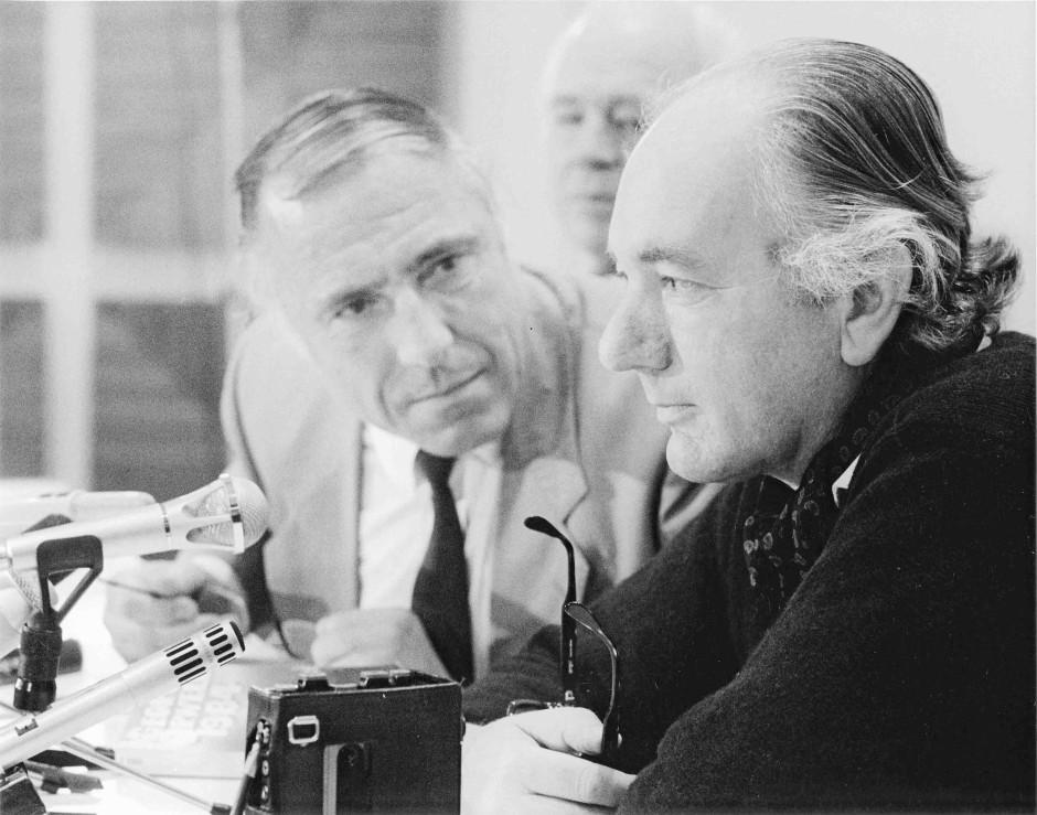 Thomas Bernhard e Sigfried Unseld
