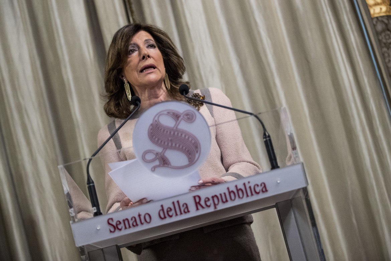 La presidente del Senato Casellati