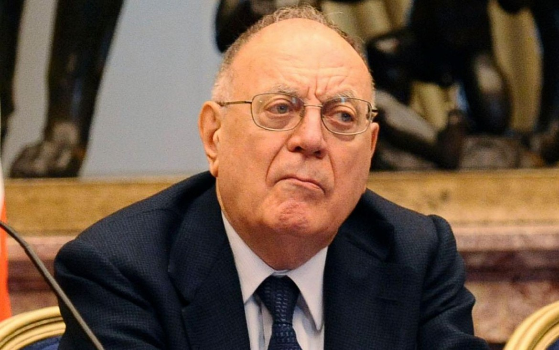 L'ex ministro socialista Rino Formica
