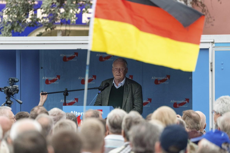 Alexander Gauland,  capogruppo Afd al Bundestag (con Alice Weidel) e tra i fondatori del partito