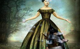 Alice Rowlands che fluttua tra meraviglia e terrore