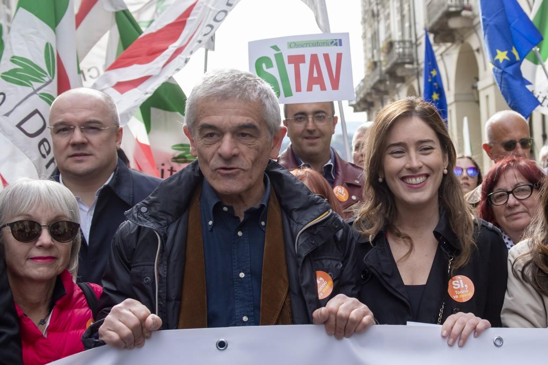 L'ex governatore dem Sergio Chiamparino e la deputata Pd Maria Elena Boschi