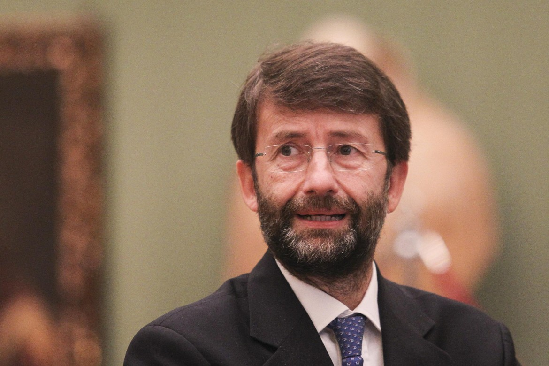 Il ministro della Cultura Franceschini