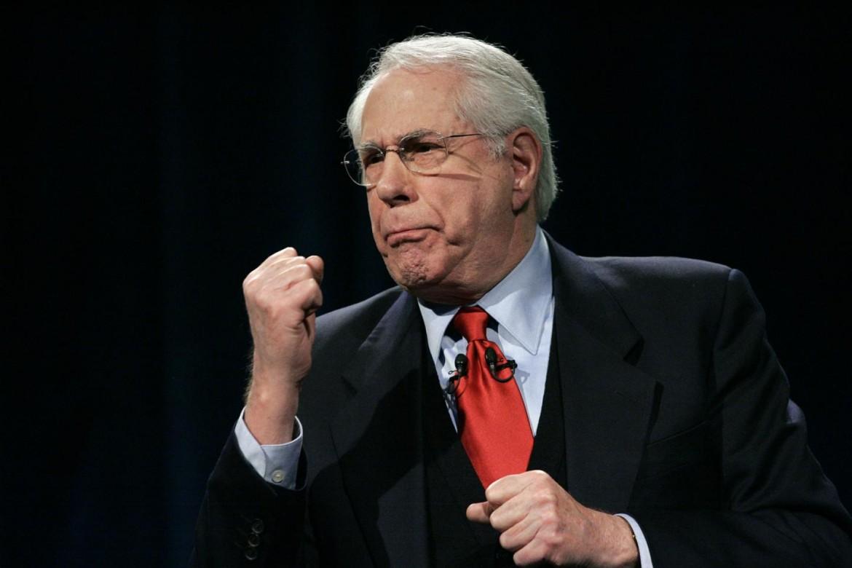 L'ex senatore Mike Gravel, candidato dem aqlla presidenza Usa