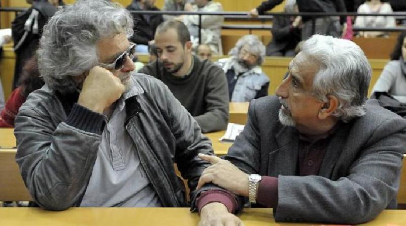 Beppe Grillo e Alberto Perino