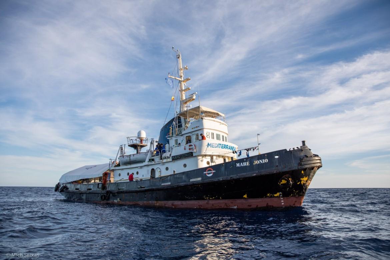 La nave Mare Jonio