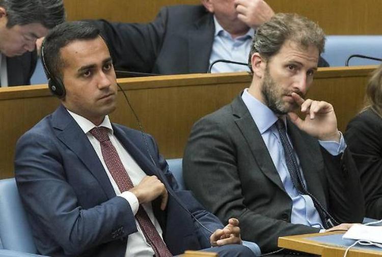 Luigi Di Maio e Davide Casaleggio