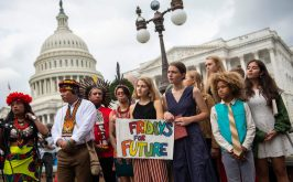 Il Climate strike a Washington