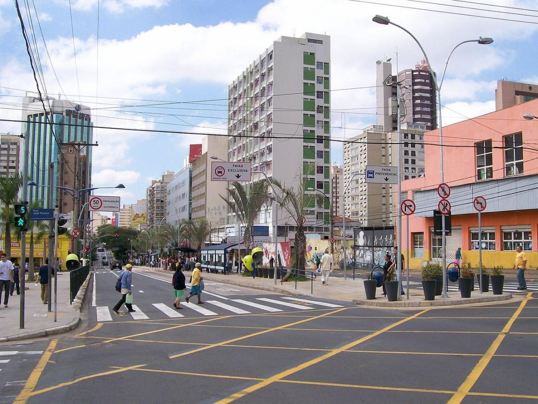 Uno scorcio di Campinas, terza città del Brasile