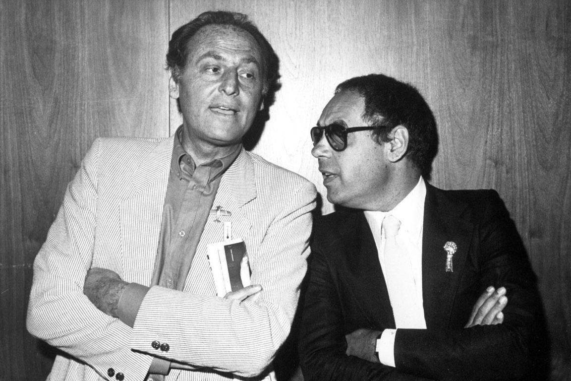Renzo Arbore e Gianni Boncompagni