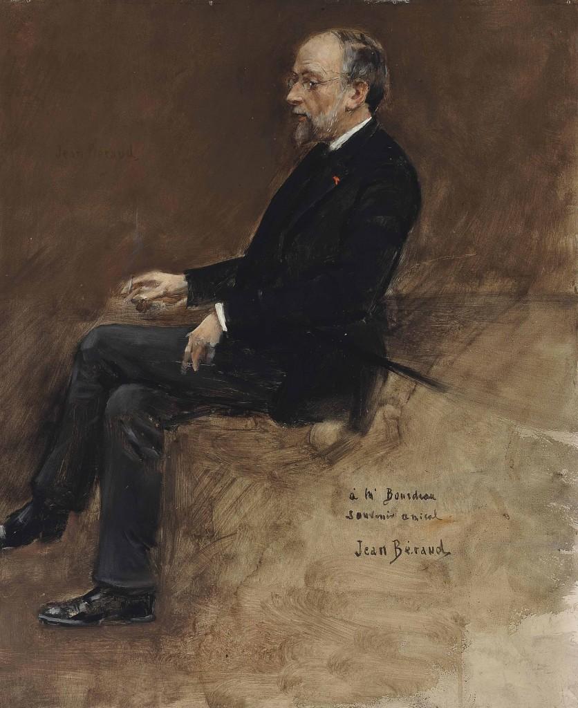 Jean Béraud,  Ritratto di Hippolyte Taine, collezione privata