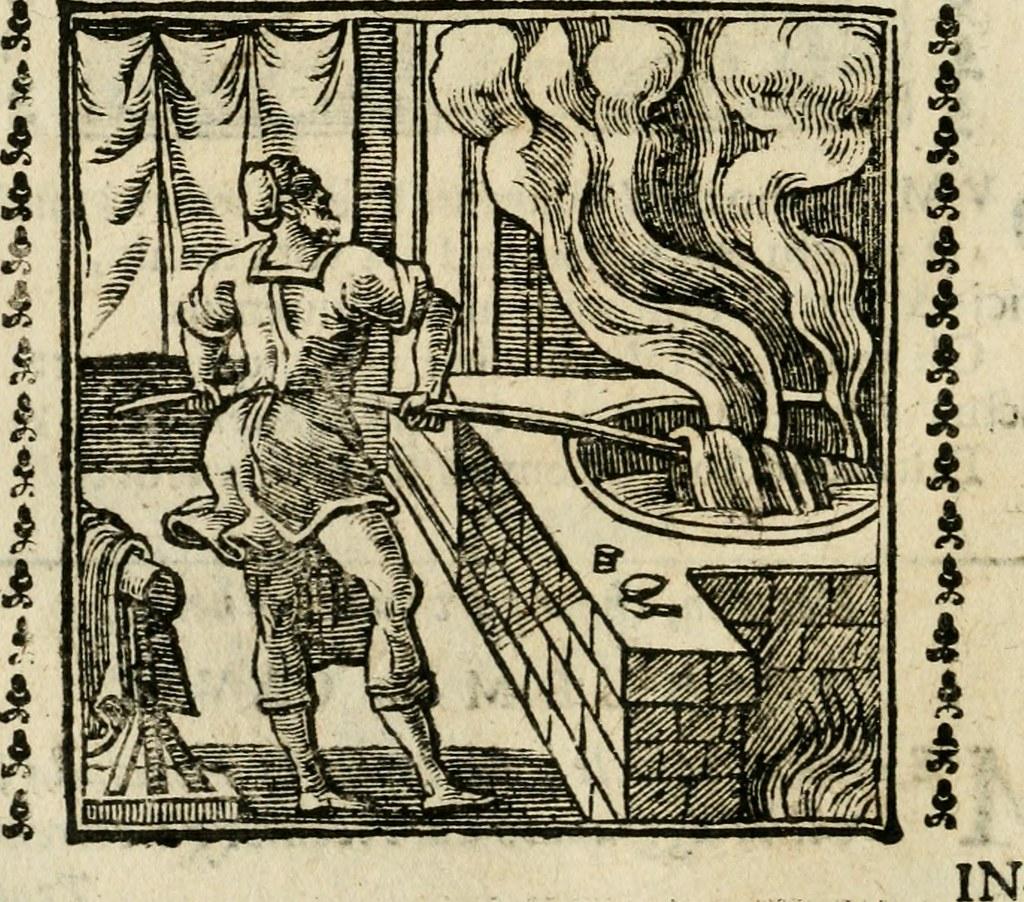 Xilografia allegorica dagli Emblemata  di Andrea Alciato, 1531
