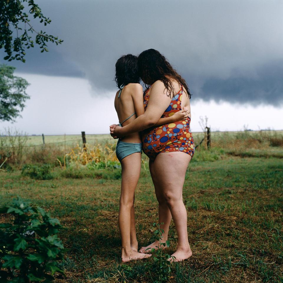 Alessandra Sanguinetti, The black cloud, da «Le avventure di Guille e Belinda», 2001