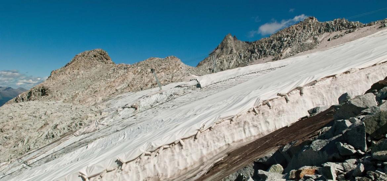 Il ghiacciaio Presena in Trentino-Alto Adige