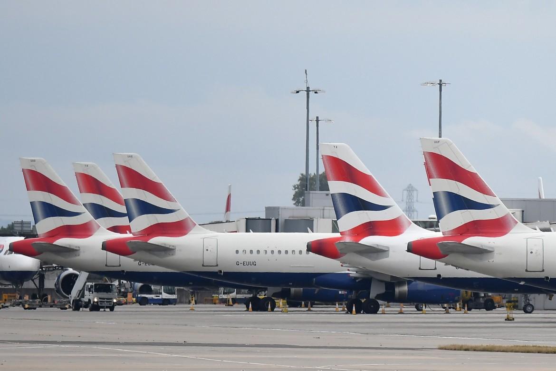 Aerei della British Airways a Heathrow