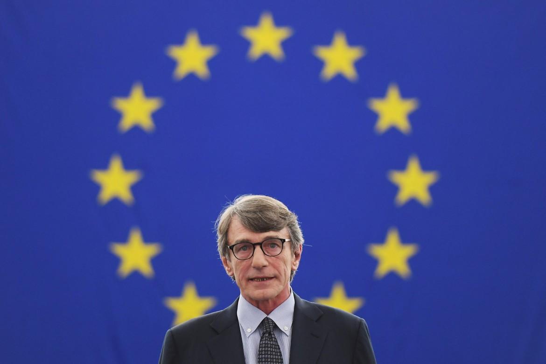 Il presidente del parlamento europeo David-Maria Sassoli