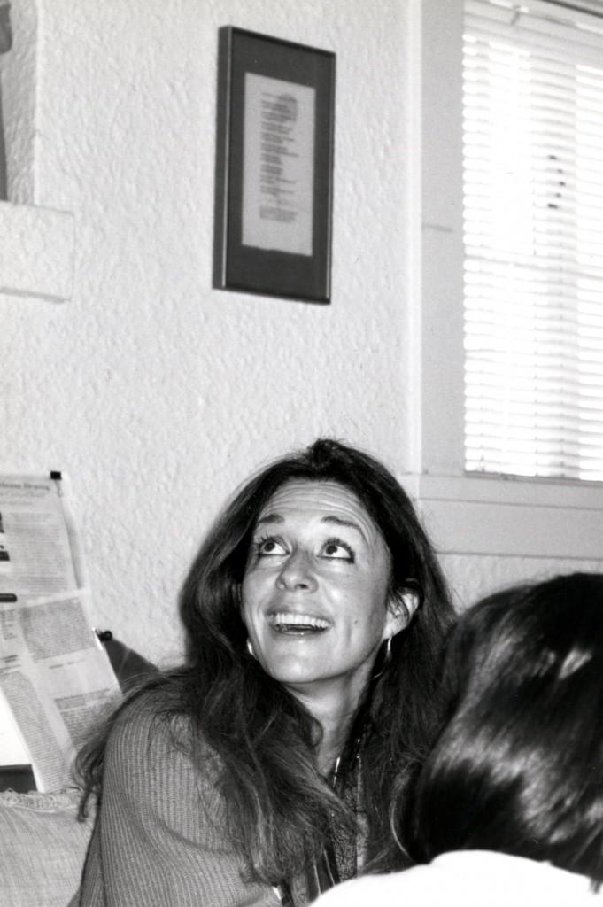 Jorie Graham nel 1999, foto di Christine Krikliwy