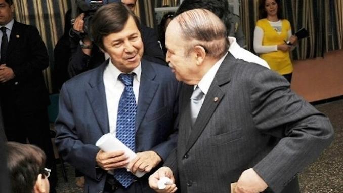 Said Bouteflika con il fratello presidente