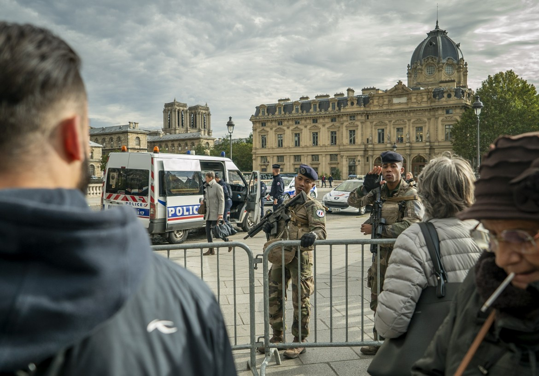 La prefettura di Parigi dopo l'attacco del 3 ottobre scorso