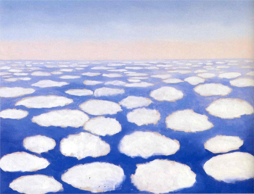 «Above the Clouds» di Georgia O'Keeffe