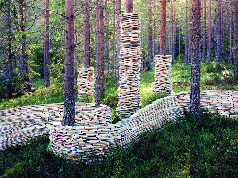 Una installazione di Rune Guneriussen
