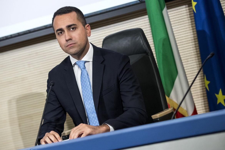 Il ministro degli esteri Luigi Di Maio