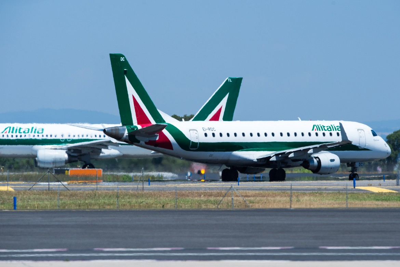 Due velivoli Alitalia