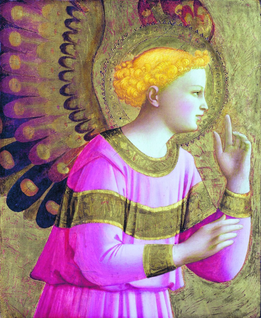 Beato Angelico, Angelo annunciatore, Detroit, Detroit Institute of Arts Museum