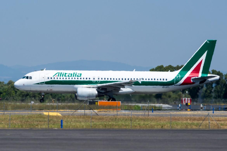 Un velivolo Alitalia