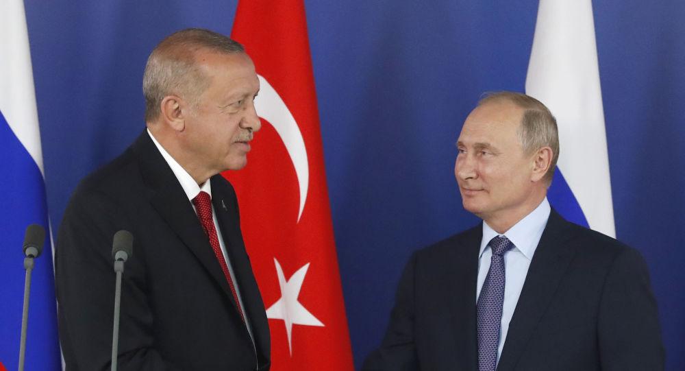 L'incontro di ieri a Sochi tra Erdogan e Putin