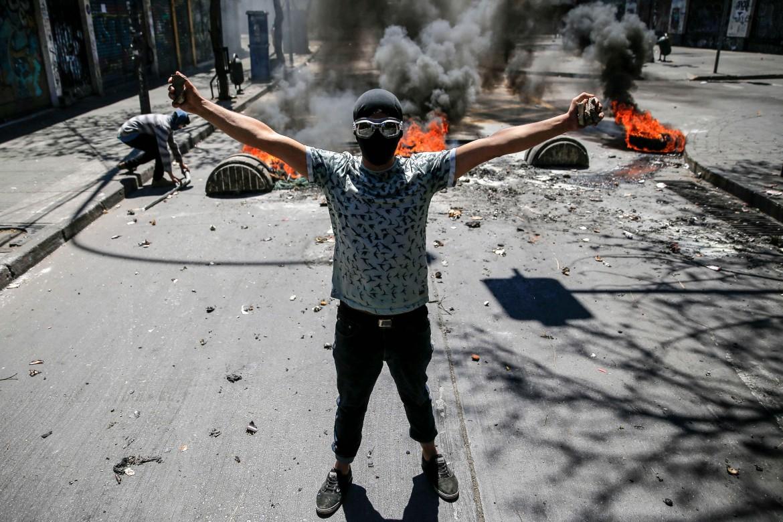 Le proteste in Cile