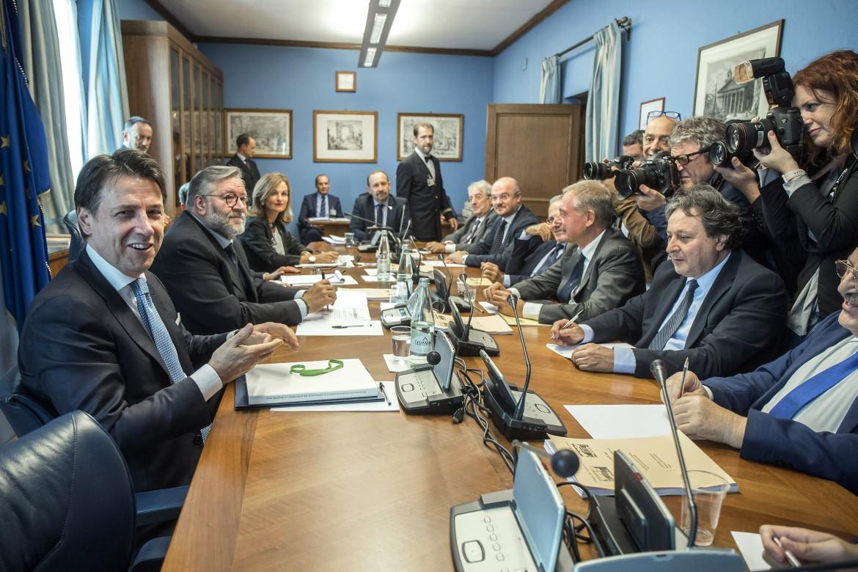 Il premier Giuseppe Conte in audizione al Copasir