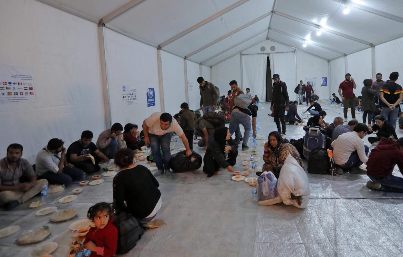 Rifugiati siriani nel campo di Bardarash, nella piana di Ninive