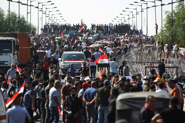 La protesta in Iraq