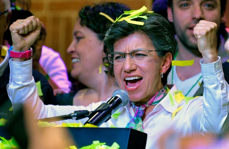 Il trionfo della neo-sindaca di Bogotà Claudia Lopez